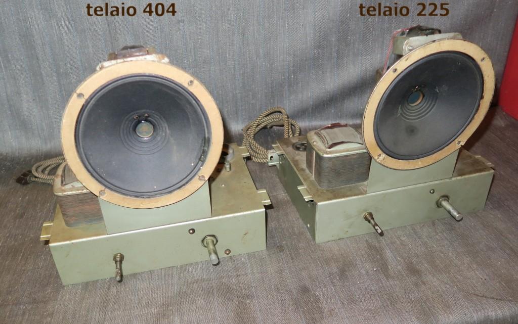 RADIO BALILLA WATT telaio 225 31