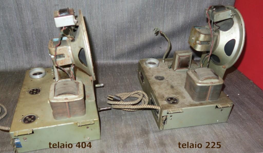 RADIO BALILLA WATT telaio 225 33