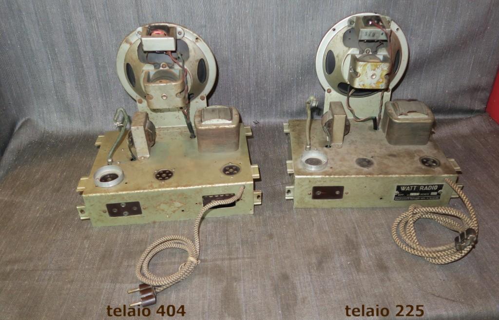 RADIO BALILLA WATT telaio 225 34