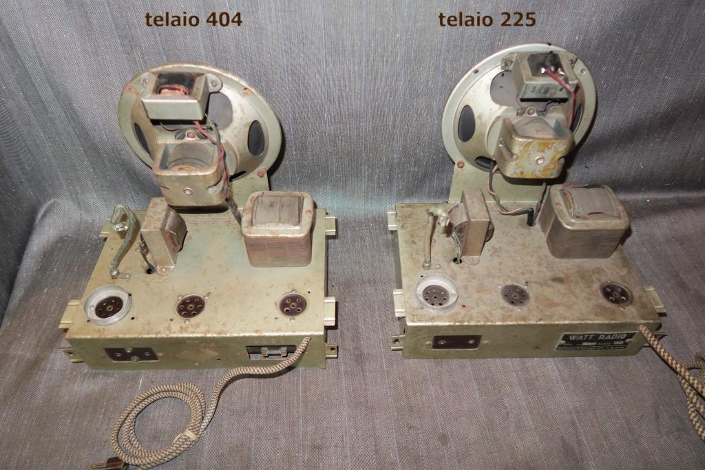 RADIO BALILLA WATT telaio 225 36