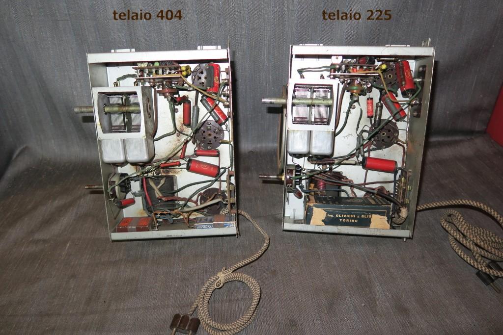 RADIO BALILLA WATT telaio 225 37