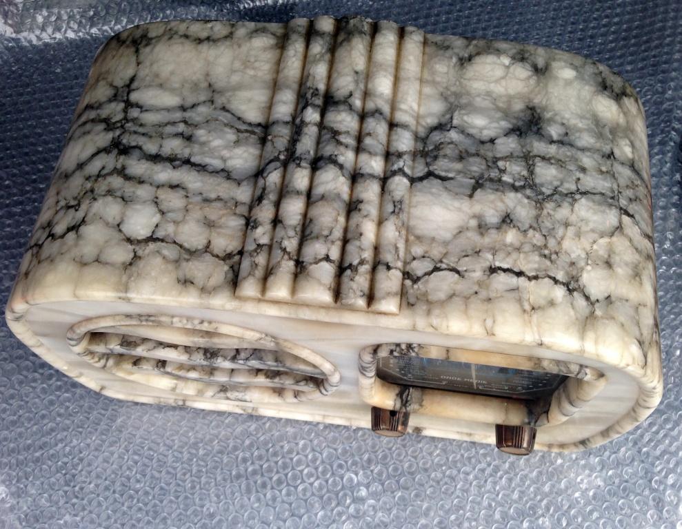RADIO GELOSO 51 41 alabastro marmo  4