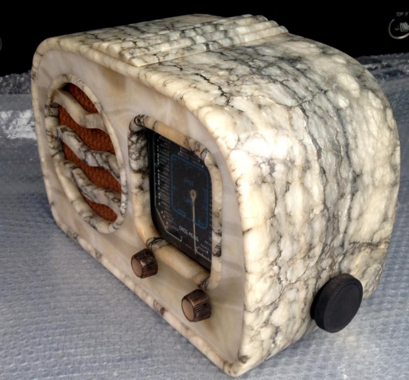 RADIO GELOSO 51 41 alabastro marmo  5