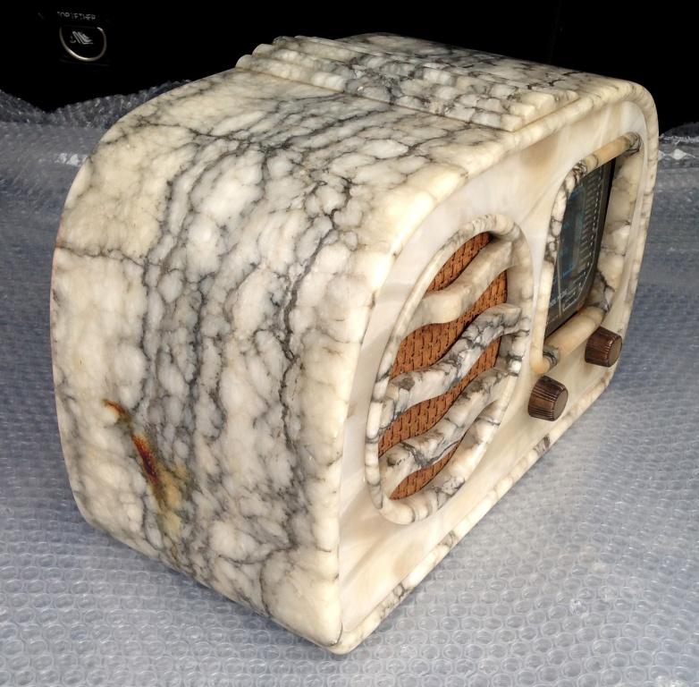 RADIO GELOSO 51 41 alabastro marmo  6
