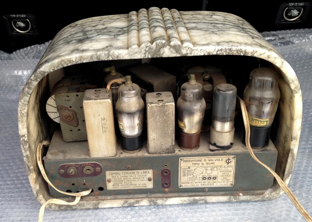 RADIO GELOSO 51 41 alabastro marmo  7
