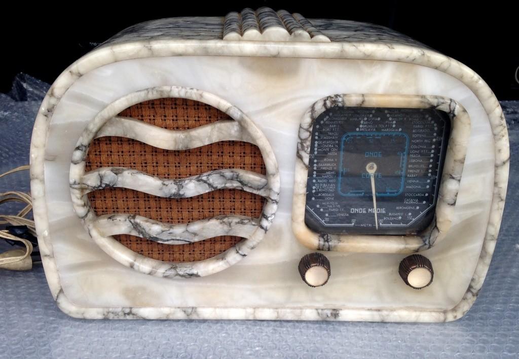 RADIO GELOSO 51 41 alabastro marmo  9