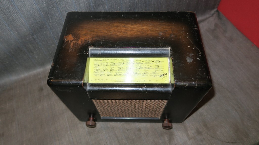 radio ROMA PHONOLA 2 gamme onda onde corte 44