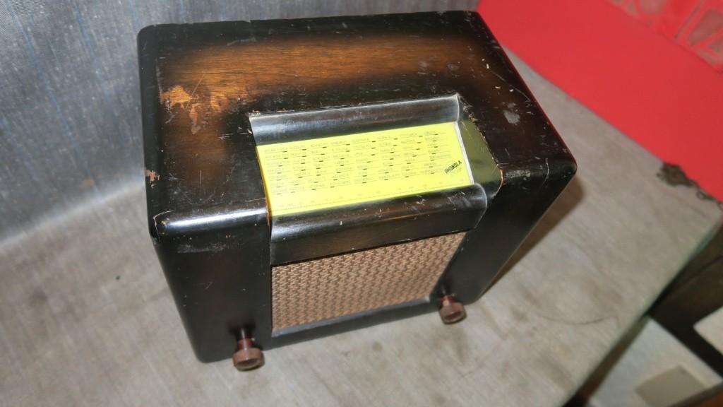 radio ROMA PHONOLA 2 gamme onda onde corte 45