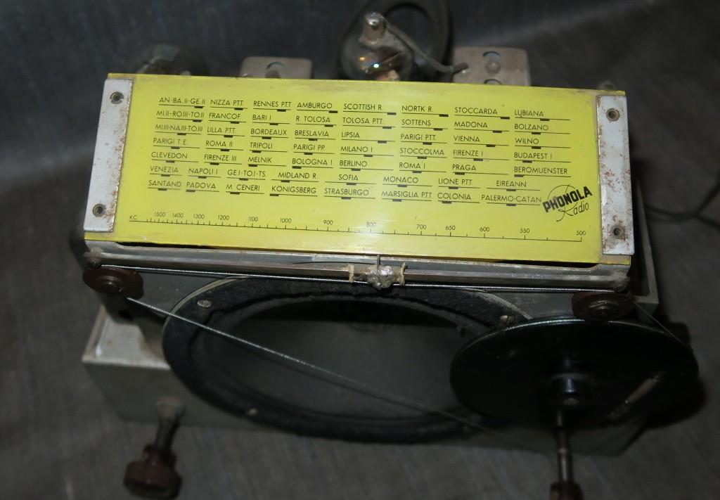 radio ROMA PHONOLA 2 gamme onda onde corte 60