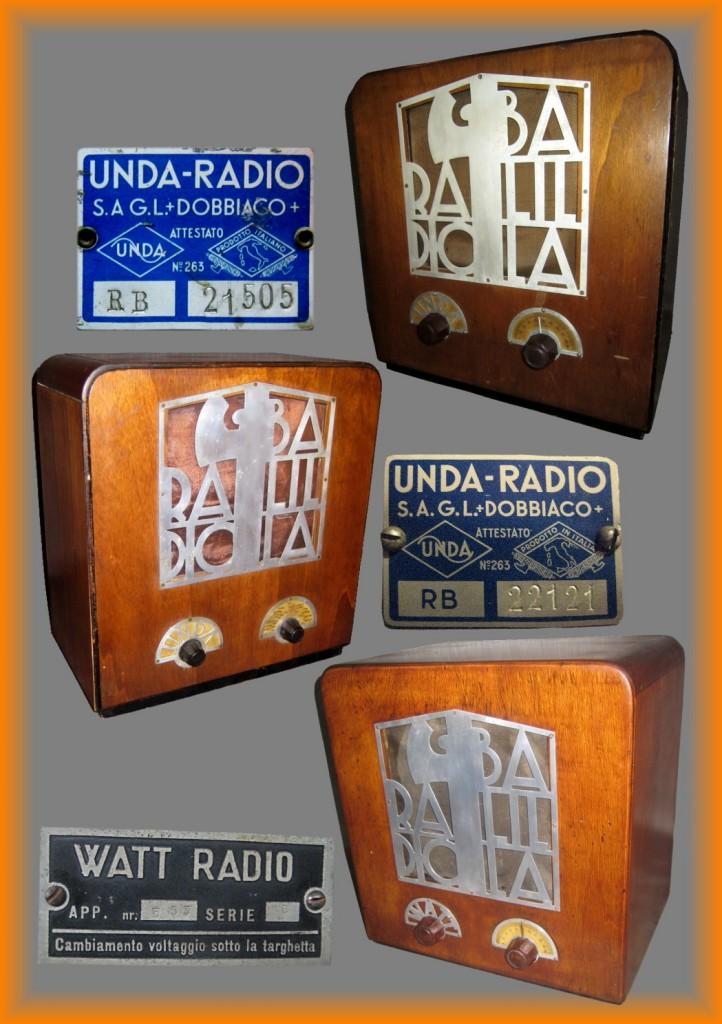 radio balilla valutazione prezzo valore radiobalilla 3