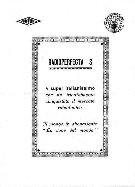 radio perfecta torino valutazione prezzo 16