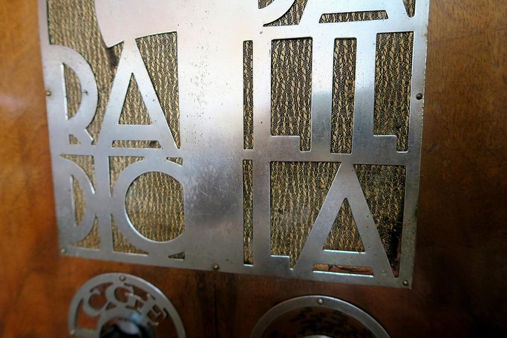 RADIO BALILLA CGE prima serie 16