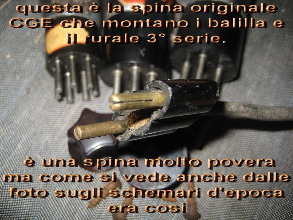 RADIO BALILLA CGE prima serie 27