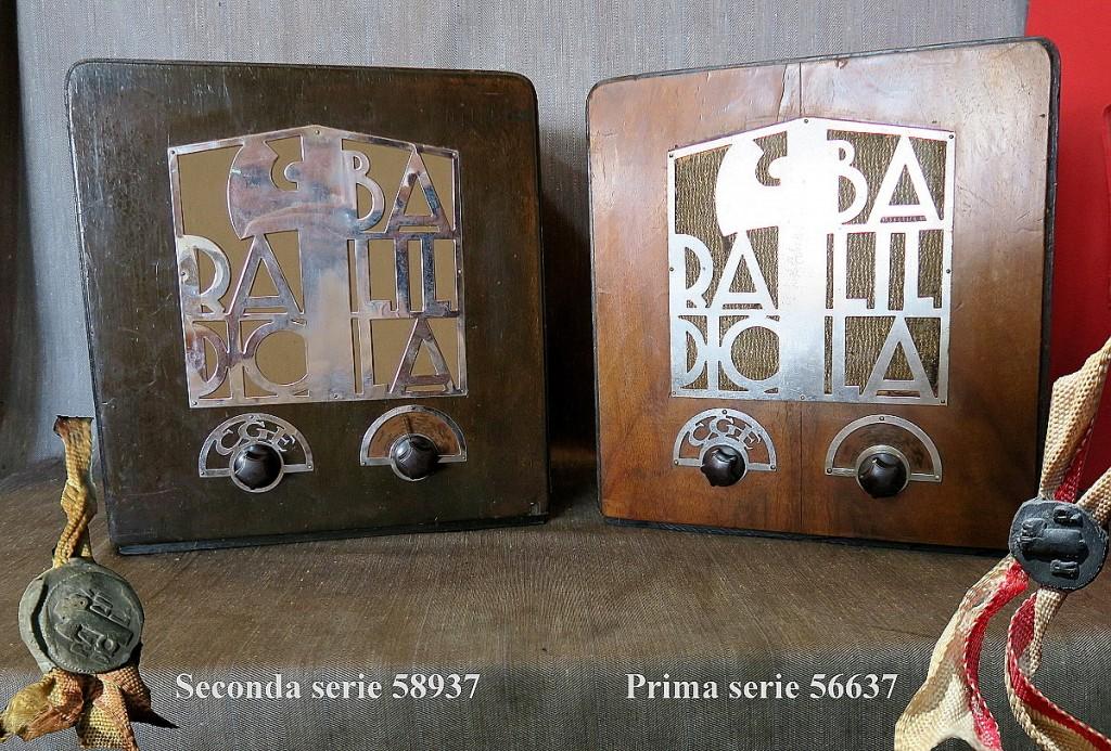RADIO BALILLA CGE prima serie 48