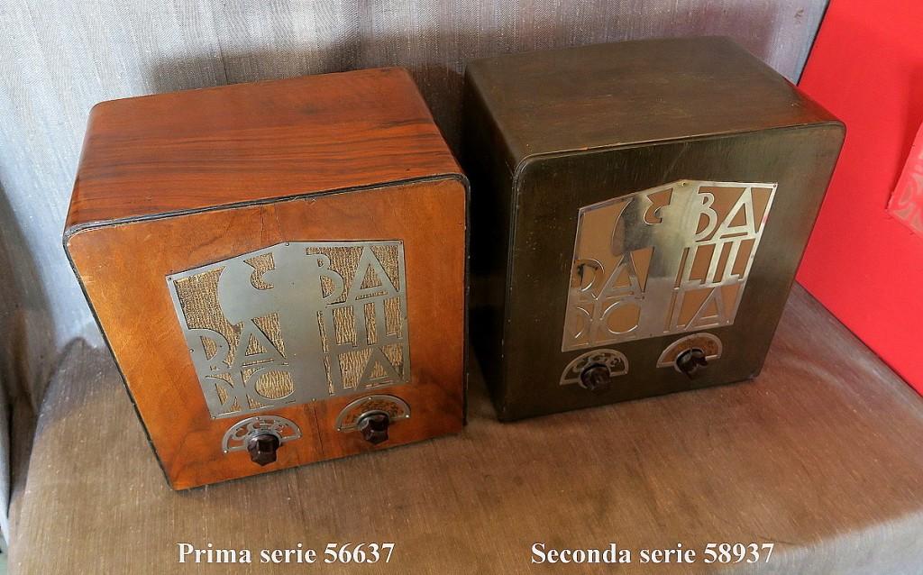 RADIO BALILLA CGE prima serie 49
