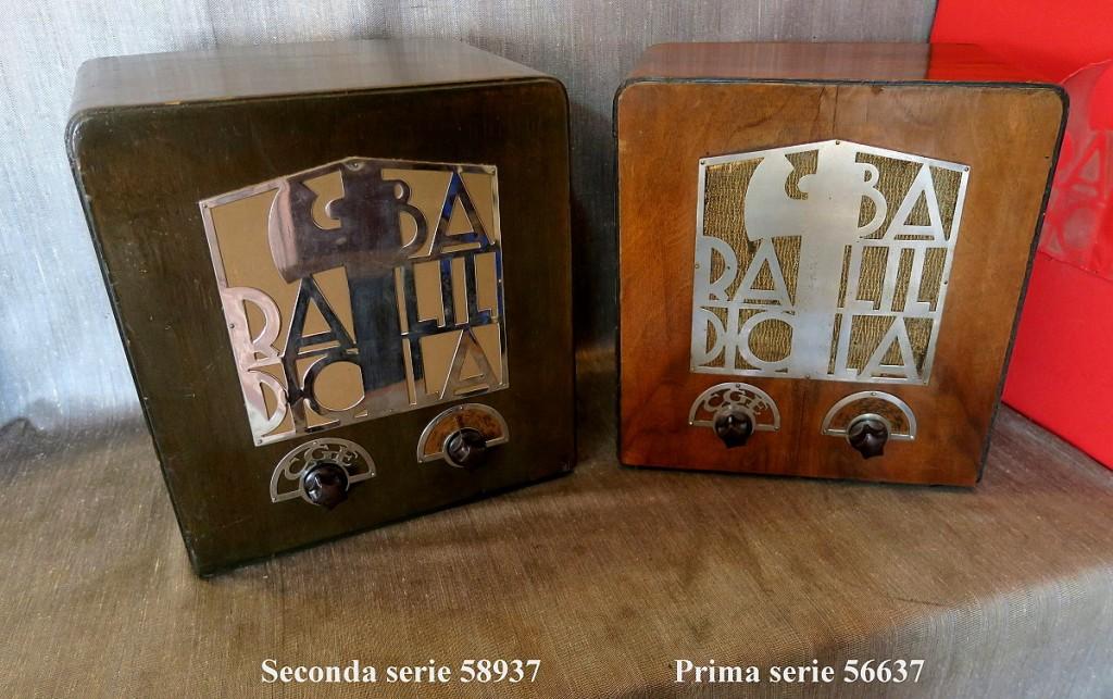 RADIO BALILLA CGE prima serie 51