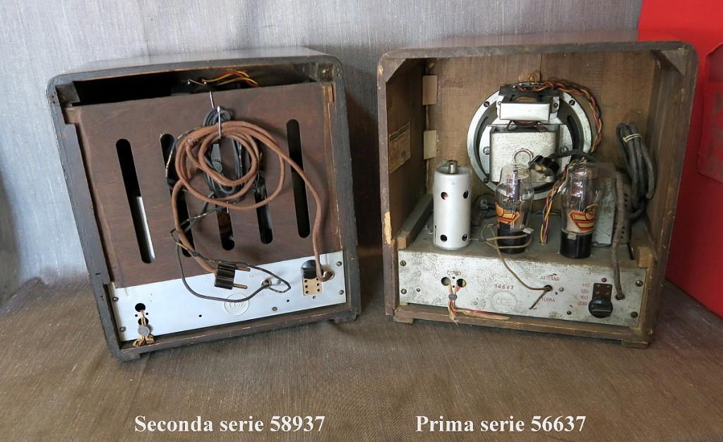 RADIO BALILLA CGE prima serie 53