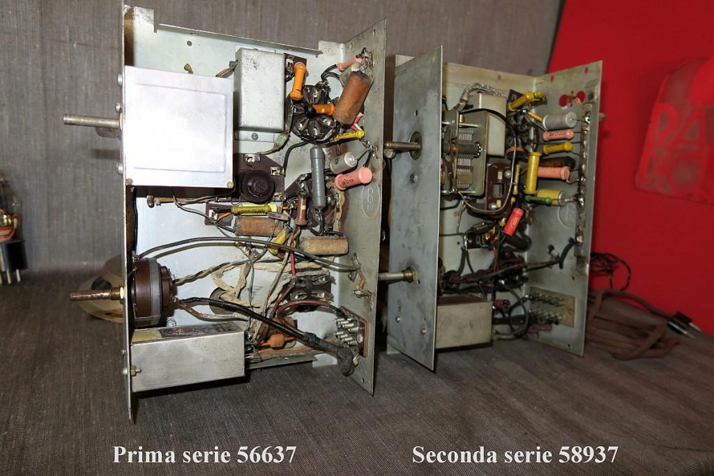 RADIO BALILLA CGE prima serie 58