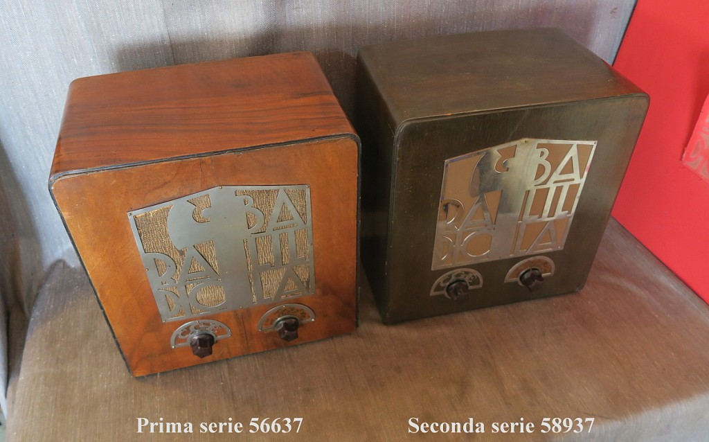 RADIO BALILLA CGE seconda serie 42