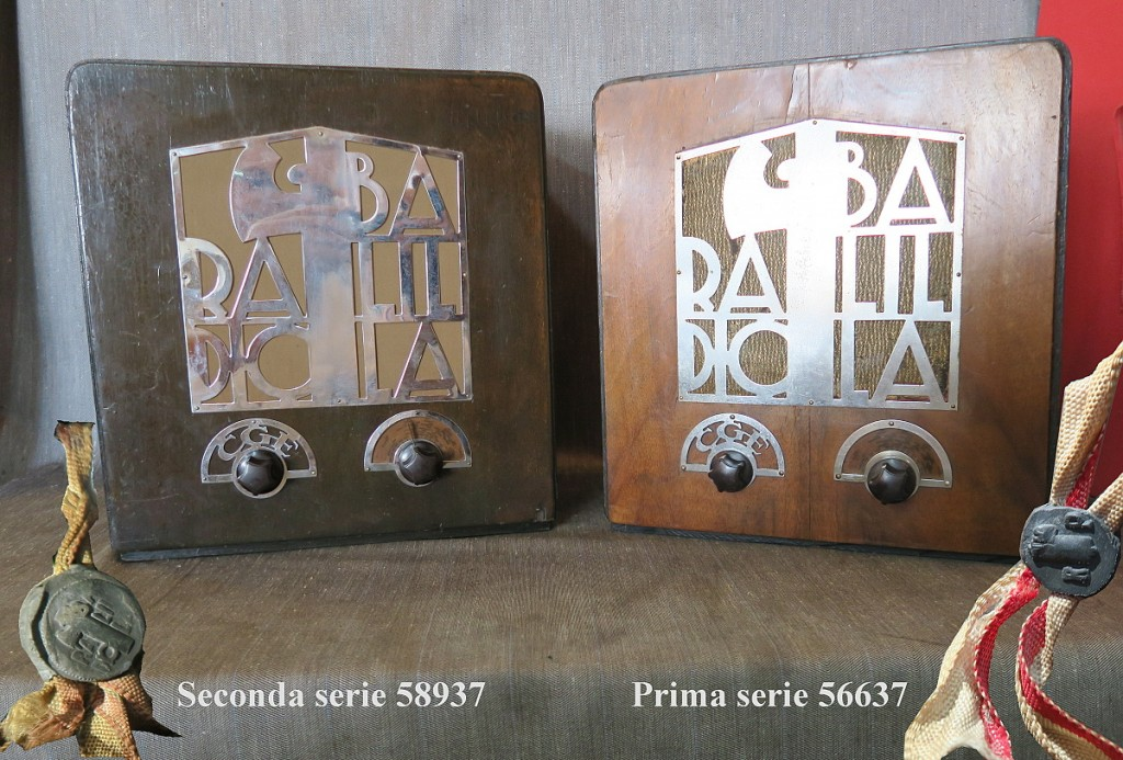 RADIO BALILLA CGE seconda serie 44