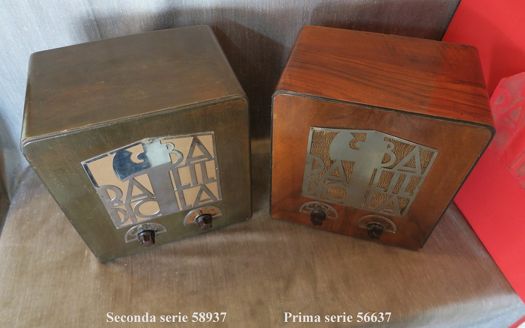 RADIO BALILLA CGE seconda serie 46