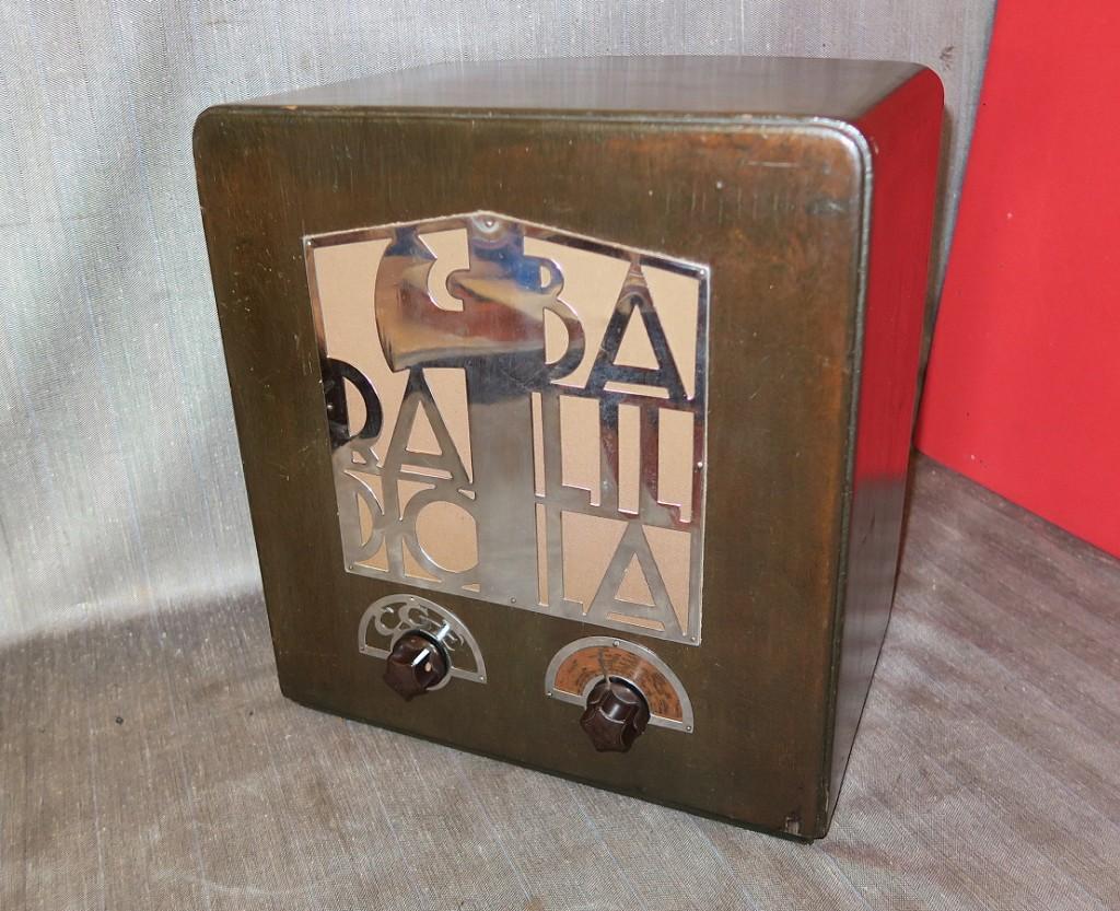 RADIO BALILLA CGE seconda serie 7