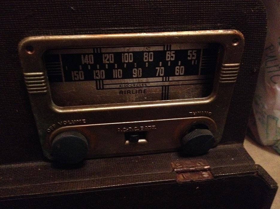 blocco radio epoca valvole vendo 4