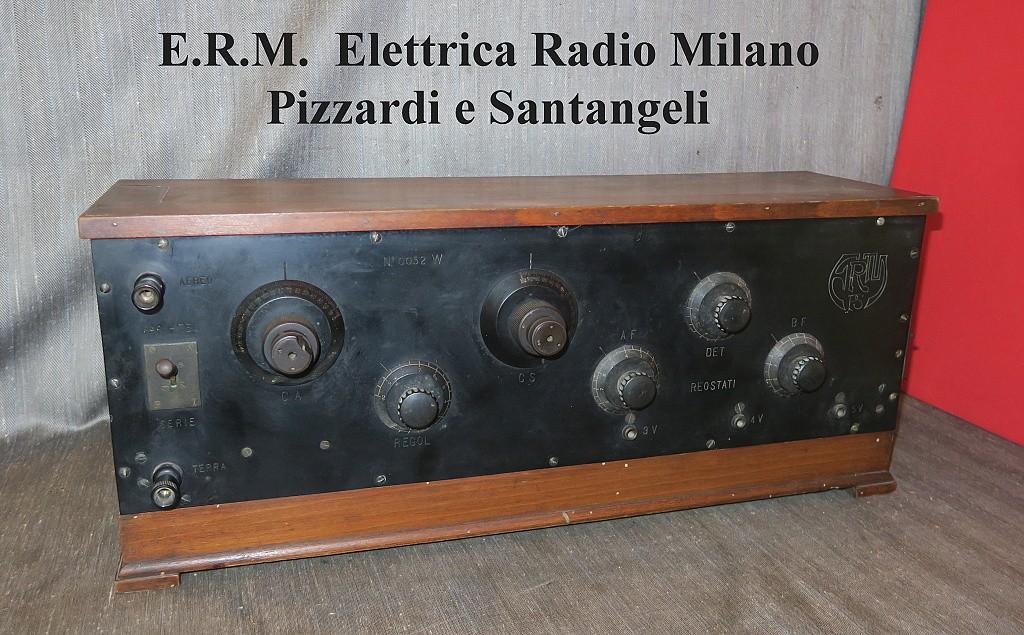 Radio E.R.M. Elettrica Radio Milano di Pizzardi e Santangeli