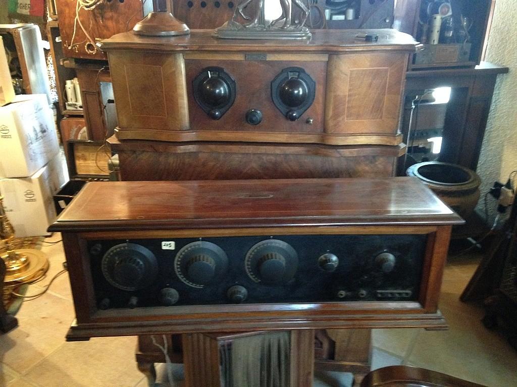 Radio IRE Industrie Radio Elettrice Torino anni 20 8 valvole