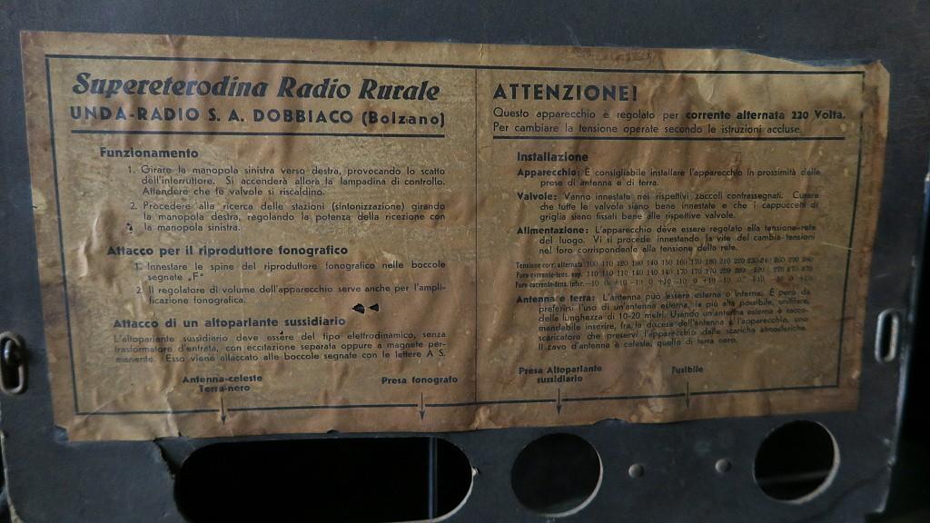 radio rurale unda 6 serie 20