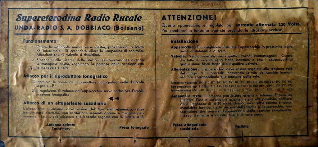 radio rurale unda 6 serie 21