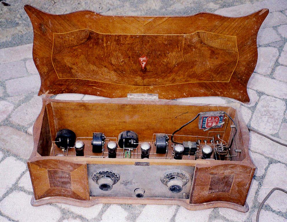 Radio Ramazzotti RD8 n° 0221 prima serie, radio d'epoca italiana anni 20