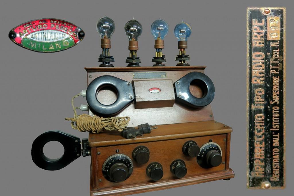 RADIO ARPE ARTURO PEREGO ANNI 20 16