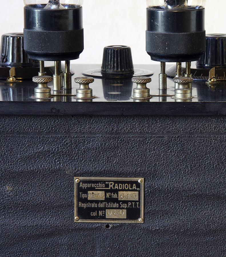 RADIO ITALIA modello radiola PBA4 8