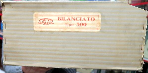 Safar altoparlante BILANCIATO TIPO 500 STUFETTA 2