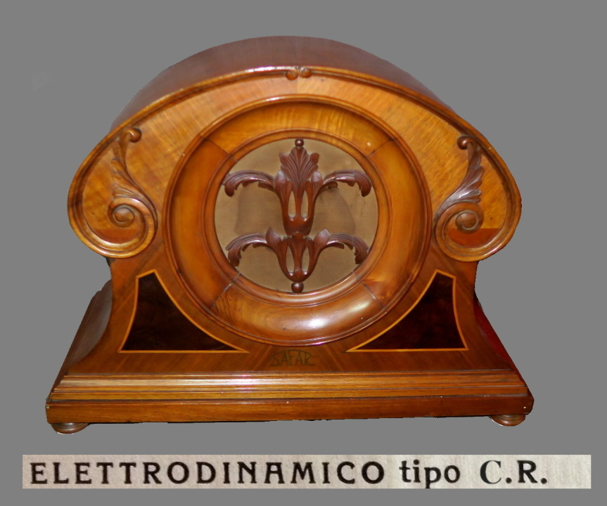 Altoparlante Safar tipo C.R. ELETTRODINAMICO