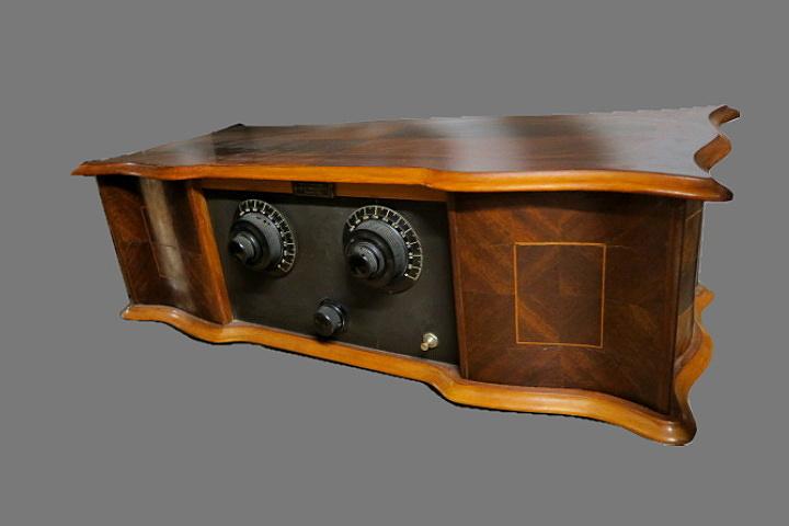 RADIO RAMAZZOTTI RD61 radio italiana 7 valvole anni 20