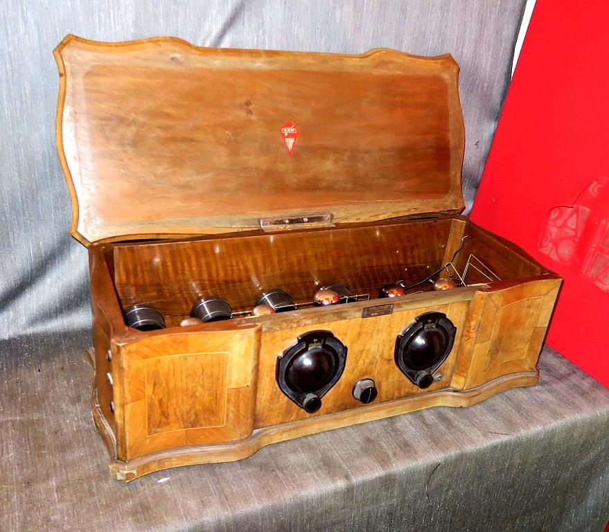 Radio Ramazzotti RD8 n° 1114 Radio Apparecchi Milano RAM R.A.M.