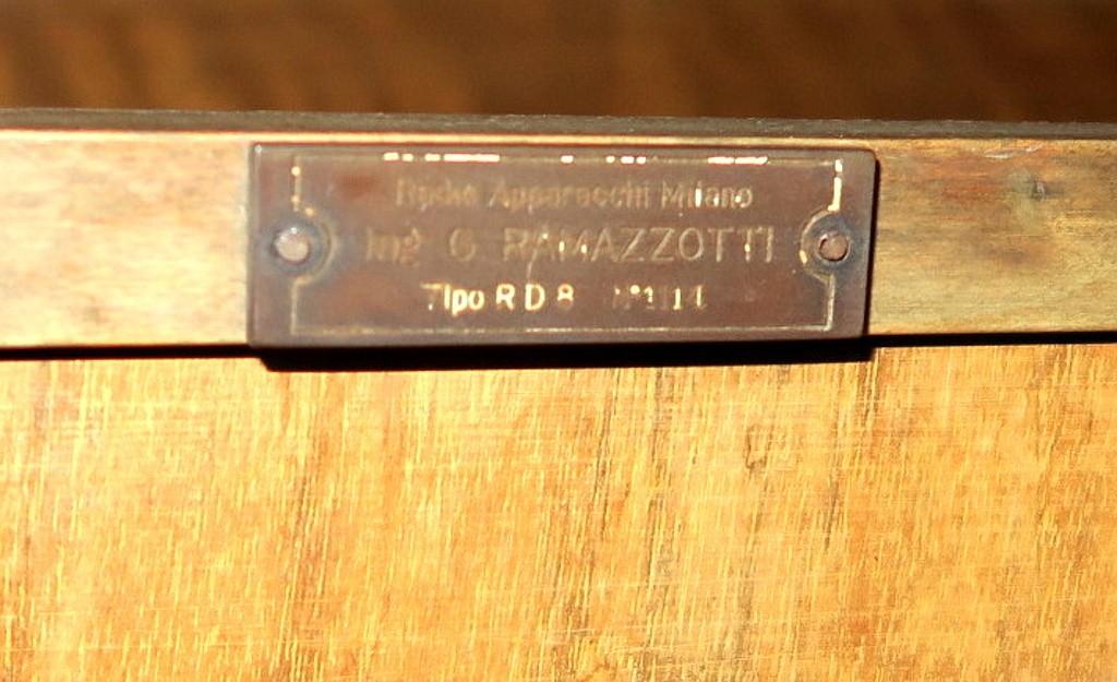radio ramazzotti rd8 ram numero 1114 8