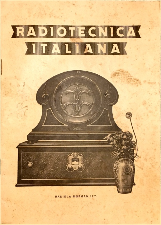 radio tecnica italiana catalogo