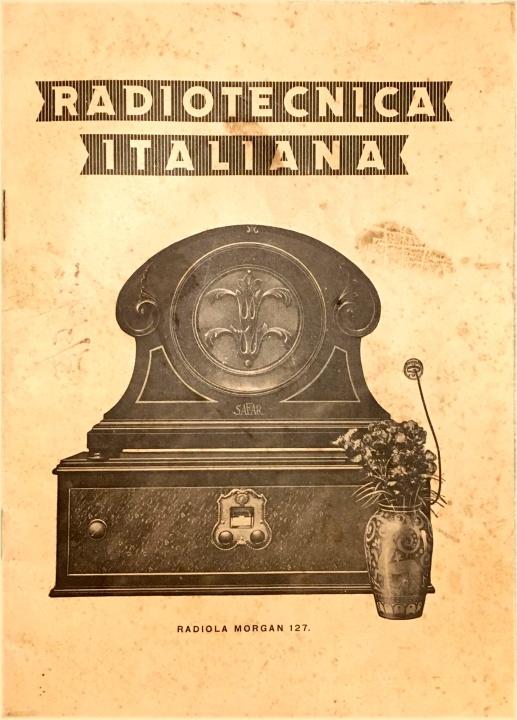 radio tecnica italiana catalogo