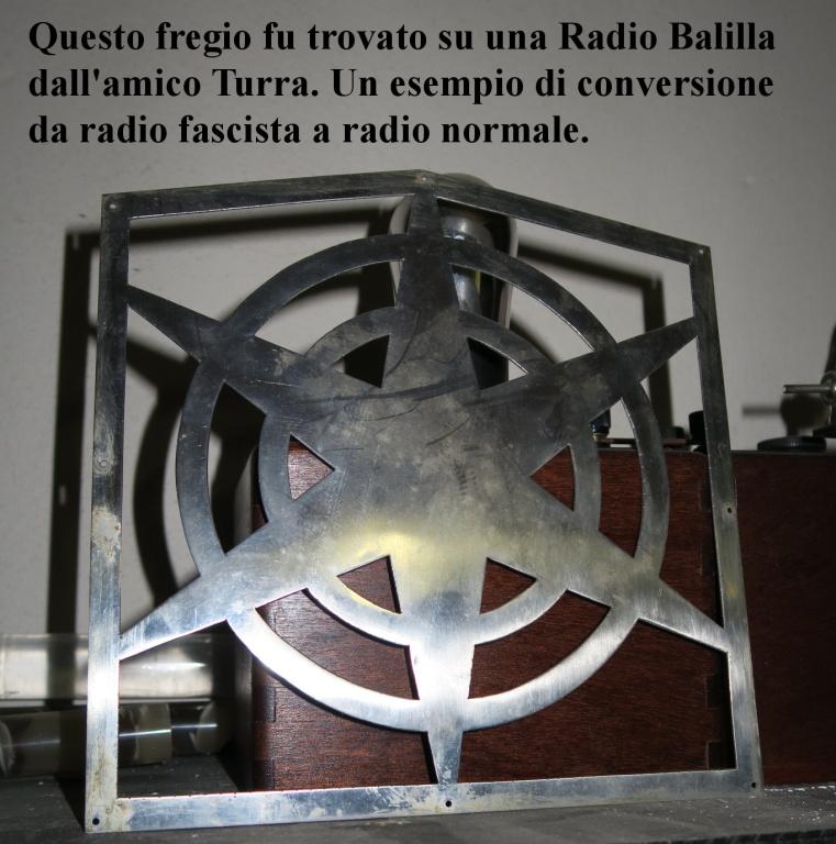 radio balilla fascio tagliato 9