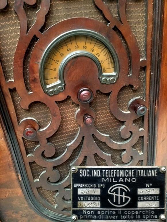 Radio S.I.T.I. siti societa industrie telefoniche italiane mod. 53M