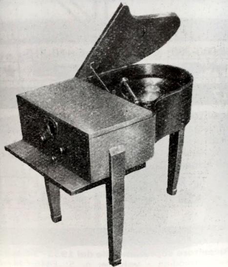 Radio Savigliano Di Super 7 modello 40 Spinetta Pianoforte