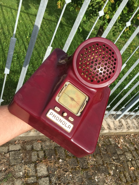 radio Phonola Castiglioni 563 viola 3