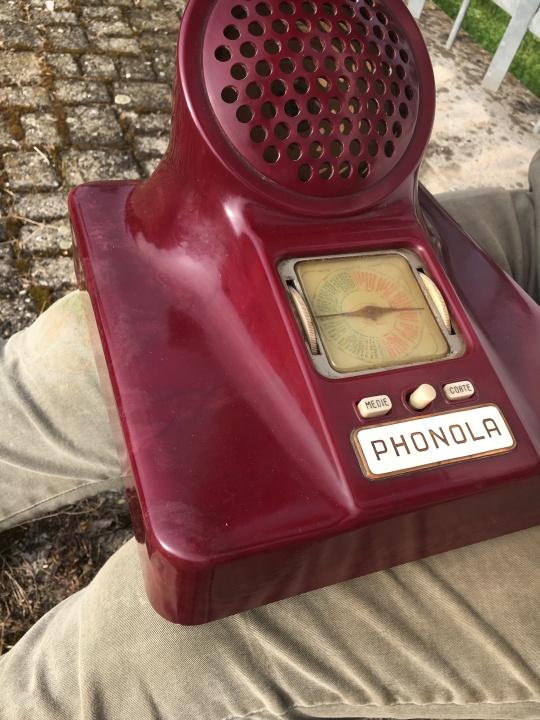 radio Phonola Castiglioni 563 viola 4