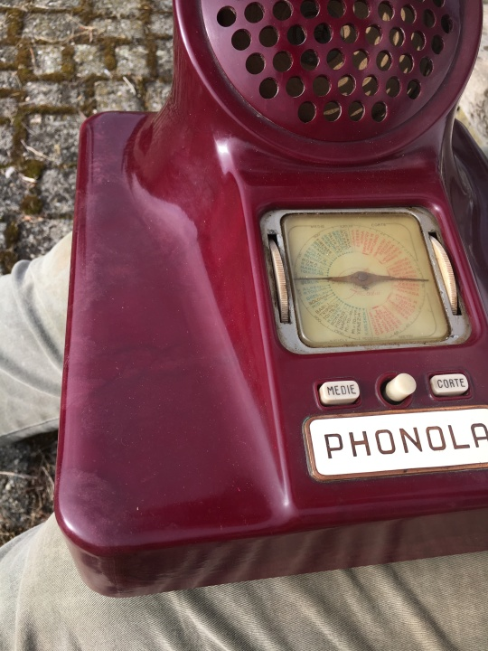 radio Phonola Castiglioni 563 viola 6