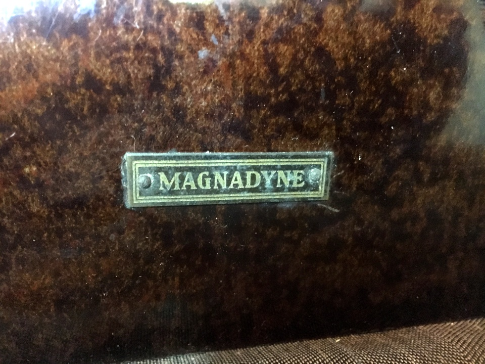 Magnadyne netro VIII anni 20 22