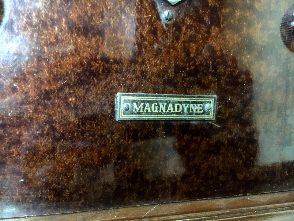 Magnadyne netro VIII anni 20 8