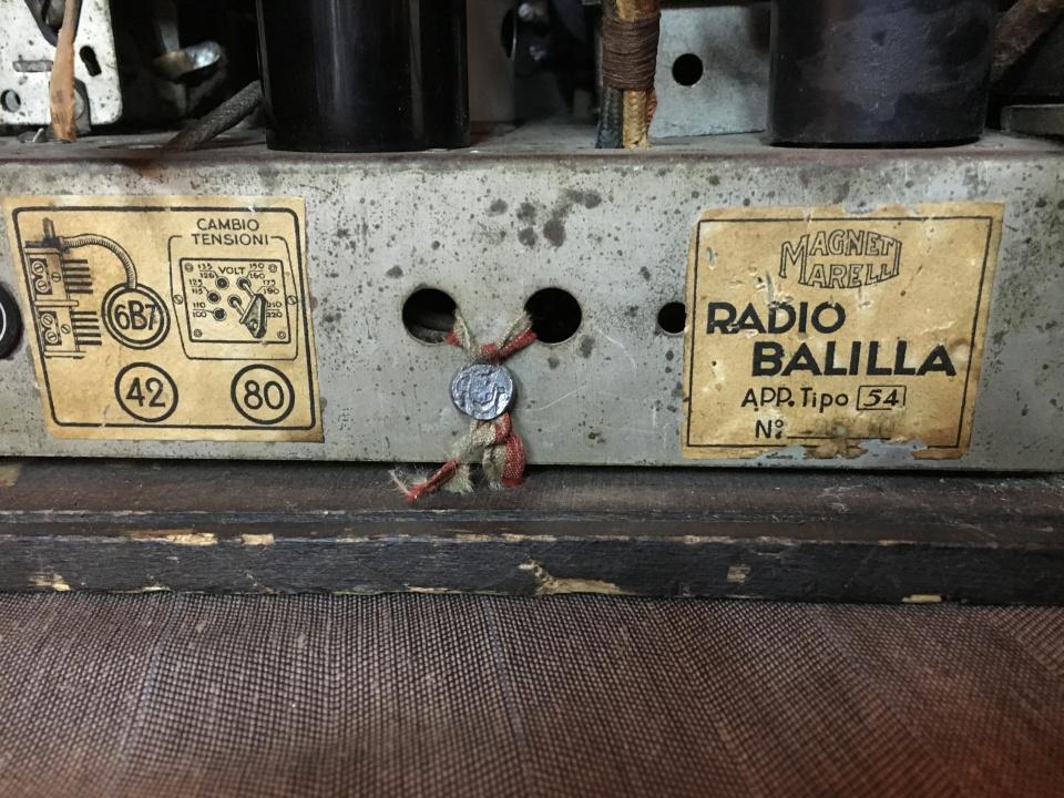 Radio Balilla Marelli 18